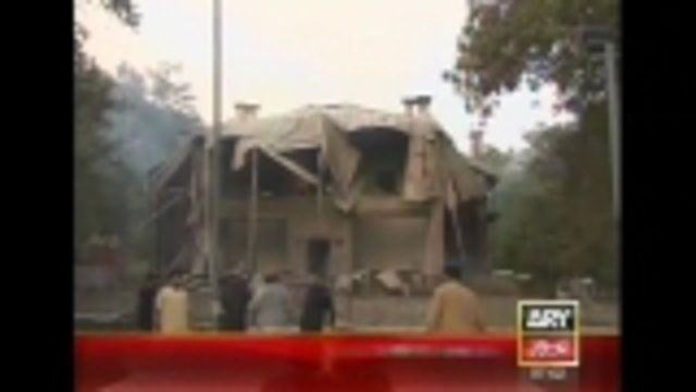 News video: Rockets kill one, gut historic buidling in Baluchistan